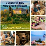 Italy Culinary Tours – 2 for the Price of 1